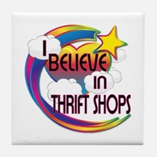 I Believe In Thrift Shops Cute Believer Design Til