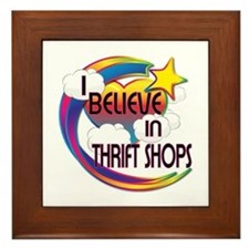 I Believe In Thrift Shops Cute Believer Design Fra