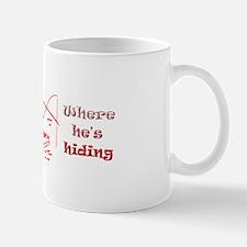 "Man in the Boat ""Where He's Hiding Mug"