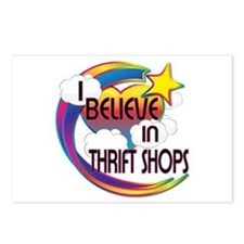I Believe In Thrift Shops Cute Believer Design Pos