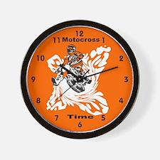 Motocross Gifts Wall Clock