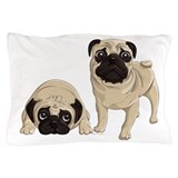 Pug pillow case Bedroom Décor
