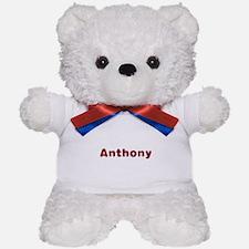 Anthony Santa Fur Teddy Bear