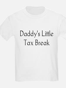 Daddy's Little Tax Break Kids T-Shirt