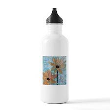 Love is the flower ..grow Water Bottle