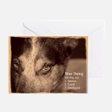 Blue Dawg Greeting Cards (Pk of 10)