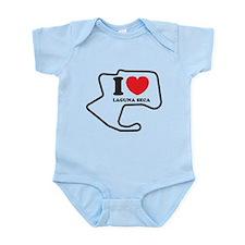 I love laguna seca Infant Bodysuit