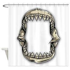 Shark Teeth Shower Curtain