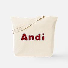 Andi Santa Fur Tote Bag
