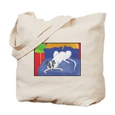 """Master's Bed"" Greyhound Tote Bag"