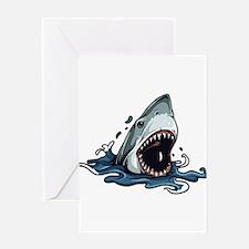 Shark Shark Shark Greeting Card