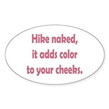 Hike Naked Decal