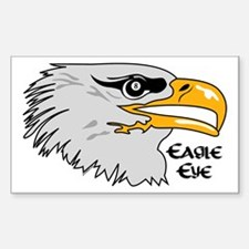Eagle Eye Rectangle Decal