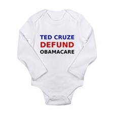 Ted Cruze Defund ObamaCare Body Suit