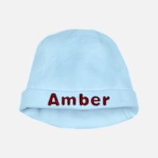 Amber Santa Fur baby hat