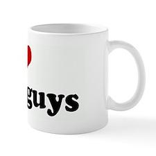 I Love black guys Mug