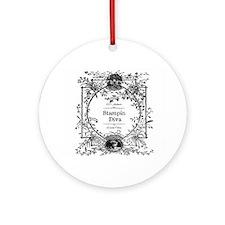 100% Authentic Stampin' Diva Ornament (Round)