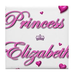 Princess Elizabeth Tile Coaster