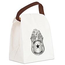 Gov - Security Officer Badge Canvas Lunch Bag