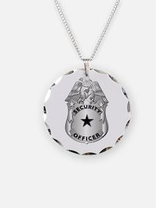 Gov - Security Officer Badge Necklace