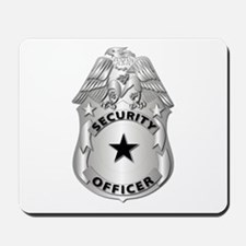Gov - Security Officer Badge Mousepad