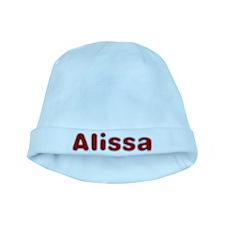Alissa Santa Fur baby hat