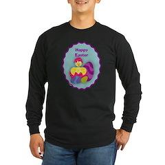 EASTER EGG Long Sleeve Dark T-Shirt
