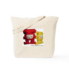 Funny Technology cartoon Tote Bag