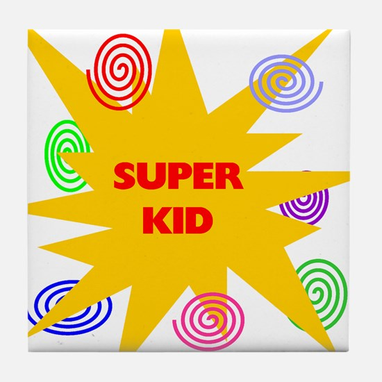 SUPER KID Tile Coaster