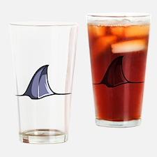 Shark Attack Drinking Glass