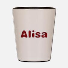 Alisa Santa Fur Shot Glass