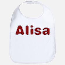 Alisa Santa Fur Bib