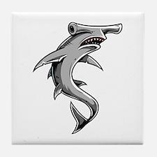 Hammerhead Shark Tile Coaster