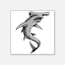 "Hammerhead Shark Square Sticker 3"" x 3"""