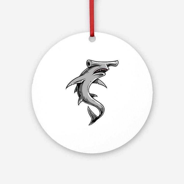 Hammerhead Shark Ornament (Round)