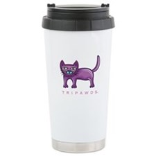 Tripawds Three Legged Cat Travel Mug