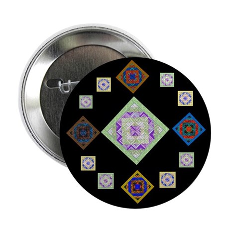 """1881 quilting bee 2.25"""" Button (100 pack)"""