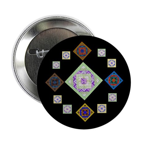 """1881 quilting bee 2.25"""" Button (10 pack)"""
