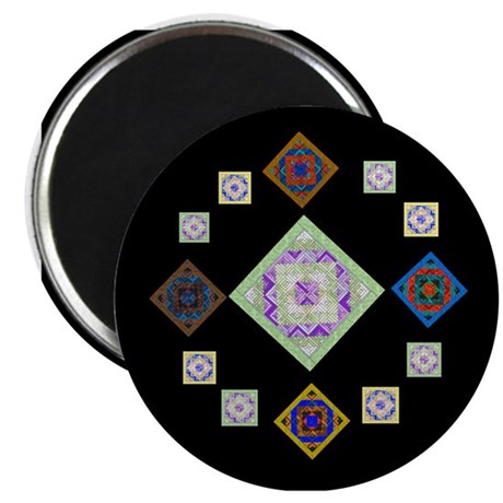 """1881 quilting bee 2.25"""" Magnet (10 pack)"""