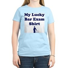 My Lucky Bar Exam Shirt Women's Pink T-Shirt