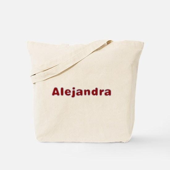Alejandra Santa Fur Tote Bag