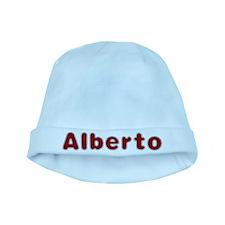 Alberto Santa Fur baby hat
