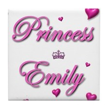 Princess Emily Tile Coaster