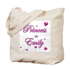 Princess Emily Tote Bag