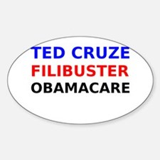 Ted Cruze Filibuster ObamaCare Decal