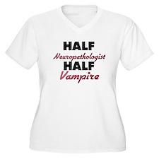 Half Neuropathologist Half Vampire Plus Size T-Shi