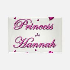 Cute Hannah name Rectangle Magnet