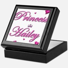 Cute Hailey Keepsake Box