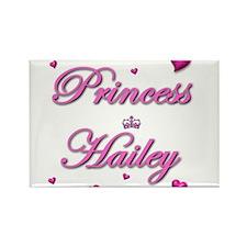 Cute Hailey Rectangle Magnet