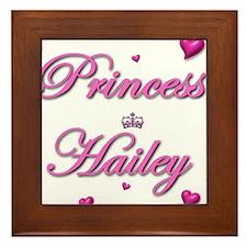 Cute Girl names Framed Tile